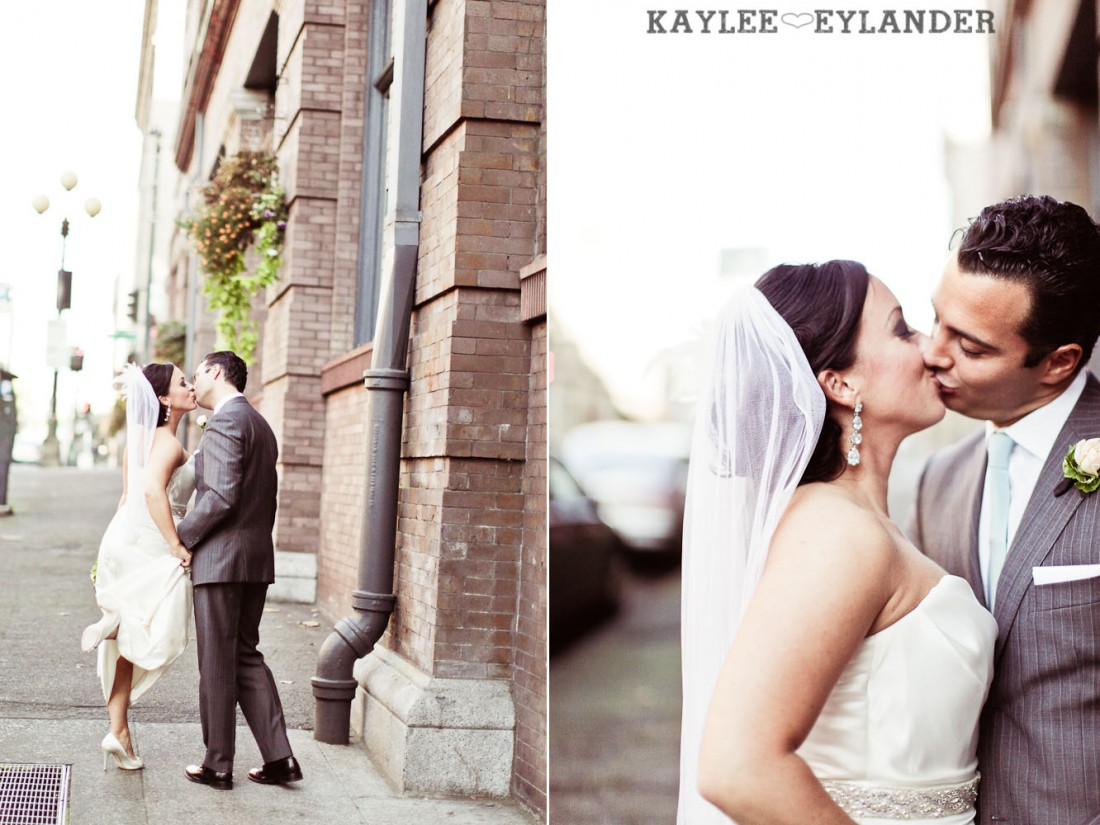 Pioneer square Seattle Vintage wedding 10 1100x825 Downtown Seattle Vintage Wedding | A love story you dont want to miss!