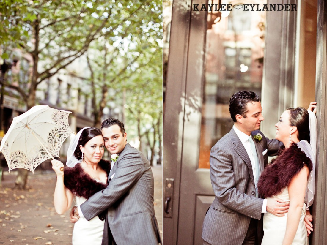 Pioneer square Seattle Vintage wedding 33 1100x825 Downtown Seattle Vintage Wedding | A love story you dont want to miss!