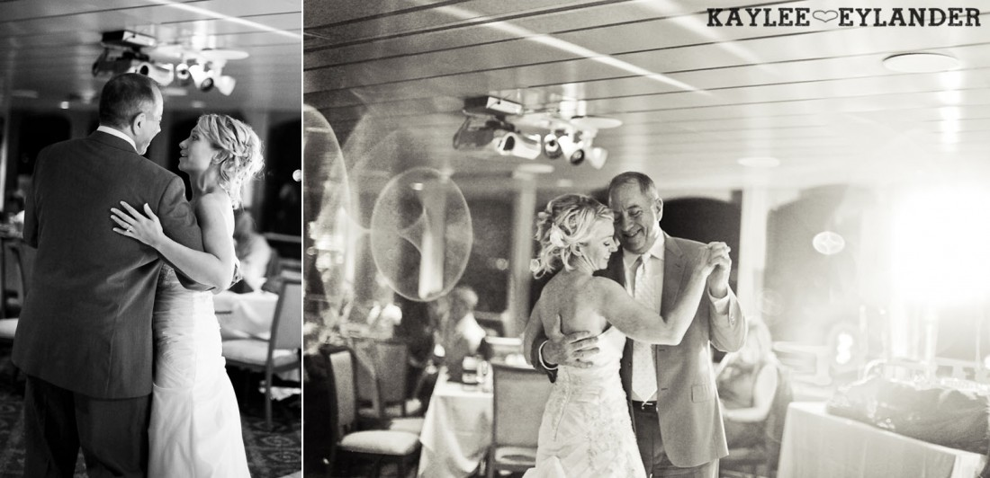 Royal Argosy Cruise Wedding Reception Seattle 14 1100x532 Seattle Royal Argosy Cruise | Nautical Vintage Wedding on a Boat!