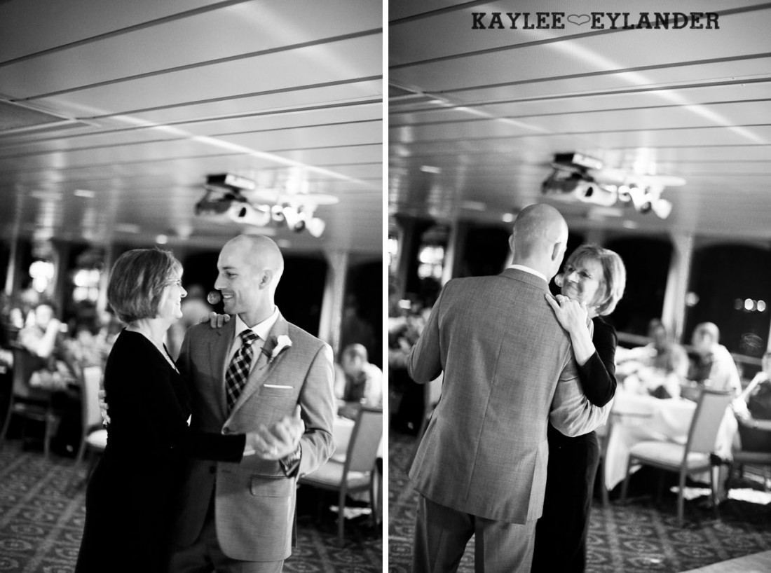 Royal Argosy Cruise Wedding Reception Seattle 15 1100x818 Seattle Royal Argosy Cruise | Nautical Vintage Wedding on a Boat!