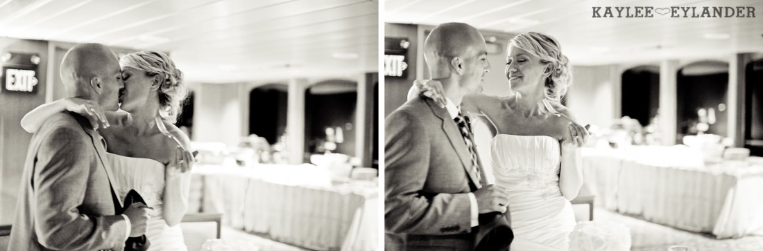Royal Argosy Cruise Wedding Reception Seattle 7 1100x363 Seattle Royal Argosy Cruise | Nautical Vintage Wedding on a Boat!