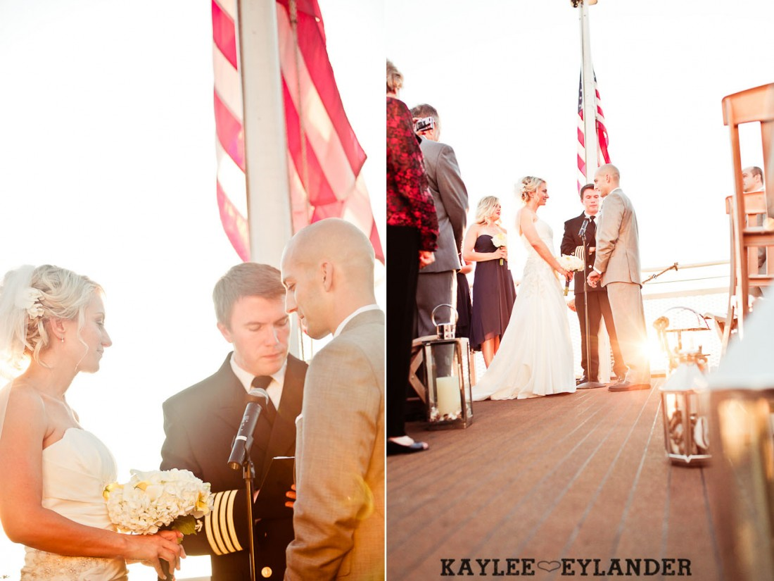 Royal Argosy Cruise Wedding Seattle 24 1100x825 Seattle Royal Argosy Cruise | Nautical Vintage Wedding on a Boat!