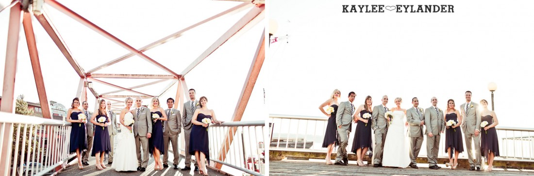 Seattle Argost Cruise Wedding Party 11 1100x363 Seattle Royal Argosy Cruise | Nautical Vintage Wedding on a Boat!