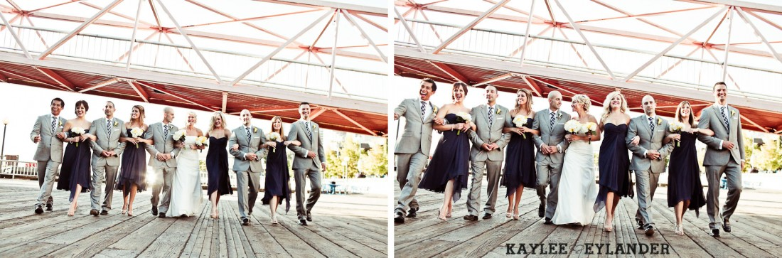Seattle Argost Cruise Wedding Party 7 1100x363 Seattle Royal Argosy Cruise | Nautical Vintage Wedding on a Boat!