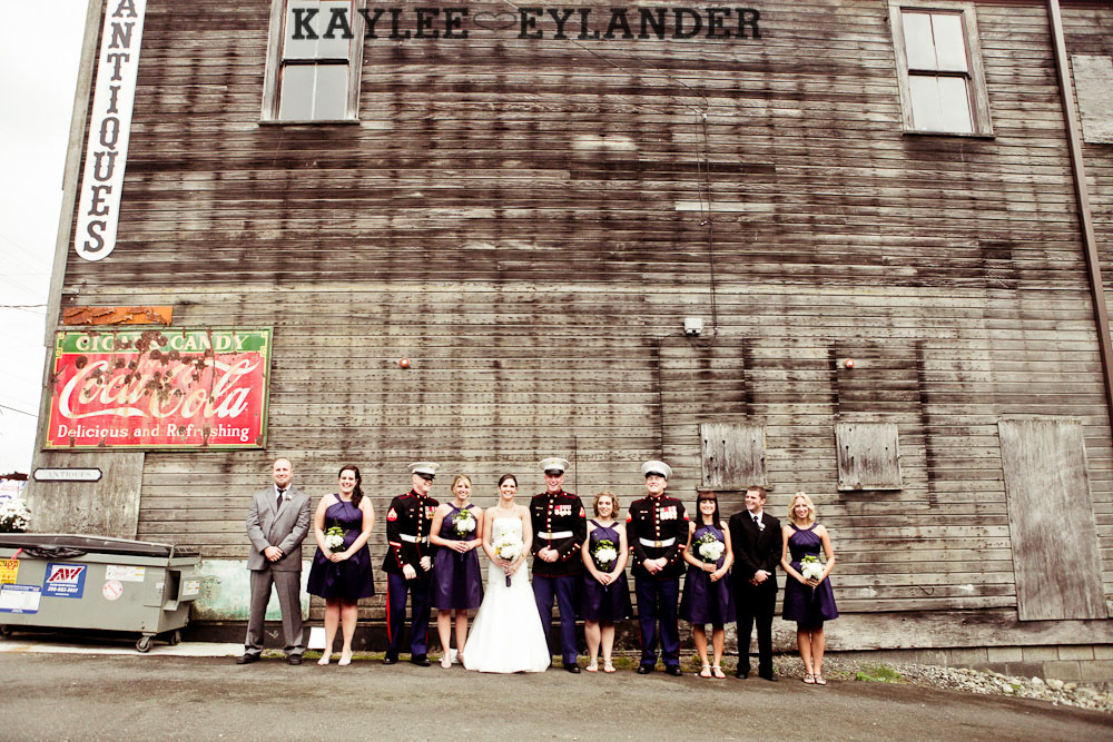 Snohomish Vintage DIY WEdding 101 Snohomish Vintage Burlap & Lace Wedding | Succulents & Striped straws!