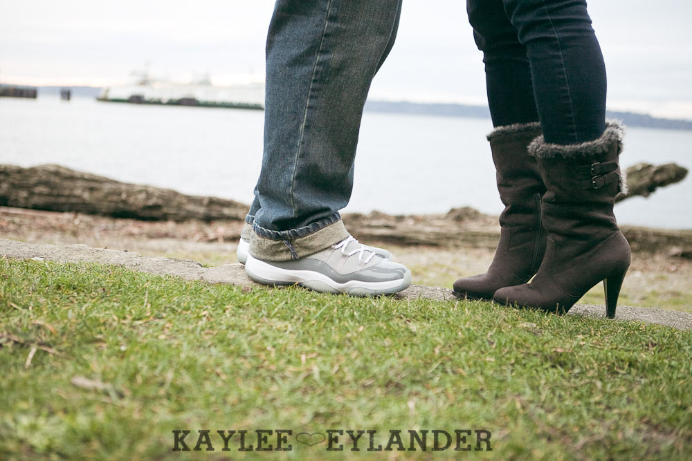 Lincoln Park West Seattle Engagment Session 31 Sneakerheads Engagement Session | Angela & Travis
