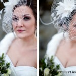 alicia's Bridal vintage style fascinator shoot