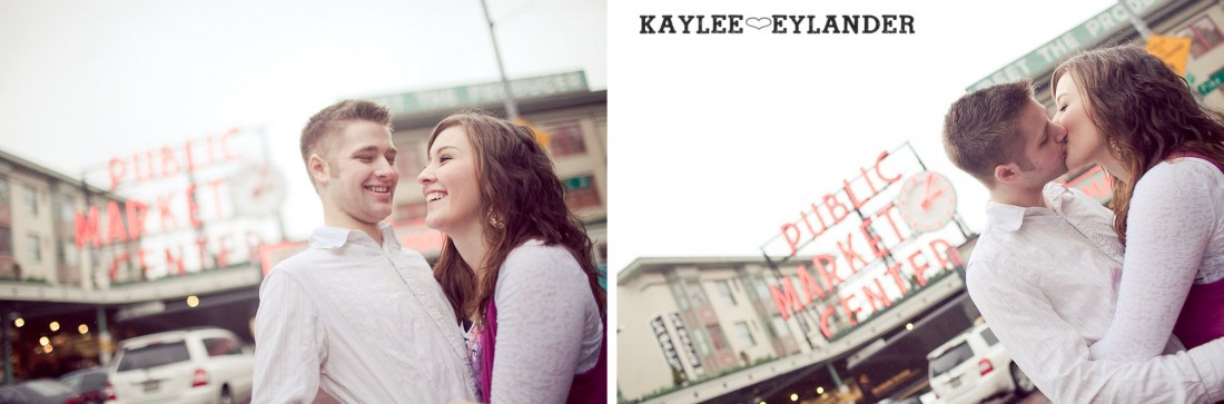 Danika Spencer 31 1100x363 Pike Place Engagement Session | Danika & Spencer