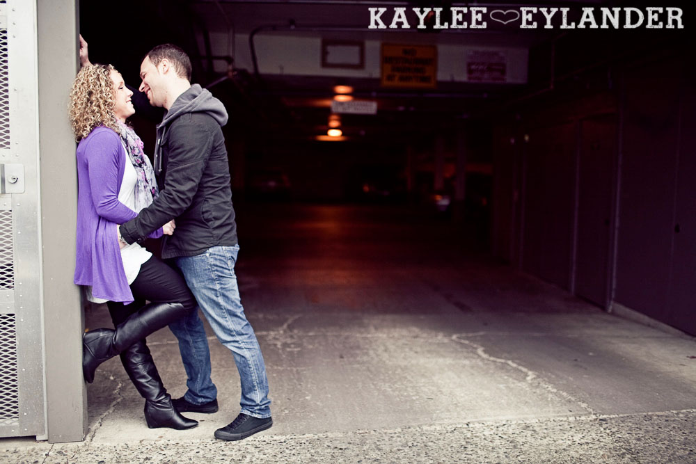 Kirkland waterfront engagement session 32 Kirkland Engagement Session | 1 Hot Pink Umbrella and Two people in love!