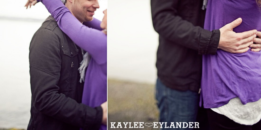 Kirkland waterfront engagement session 39 1100x550 Kirkland Engagement Session | 1 Hot Pink Umbrella and Two people in love!