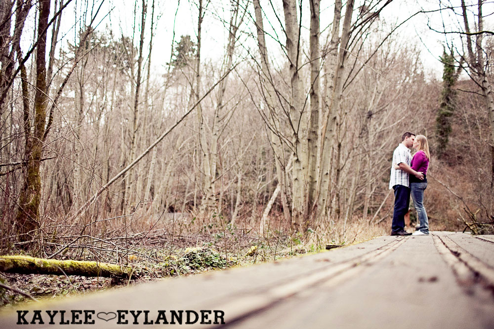 beach engagement session 20 Beach, Railroad Tracks & Trees | Everett Engagement Session