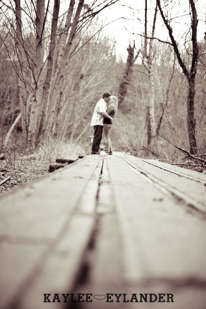 beach engagement session 24 Beach, Railroad Tracks & Trees | Everett Engagement Session