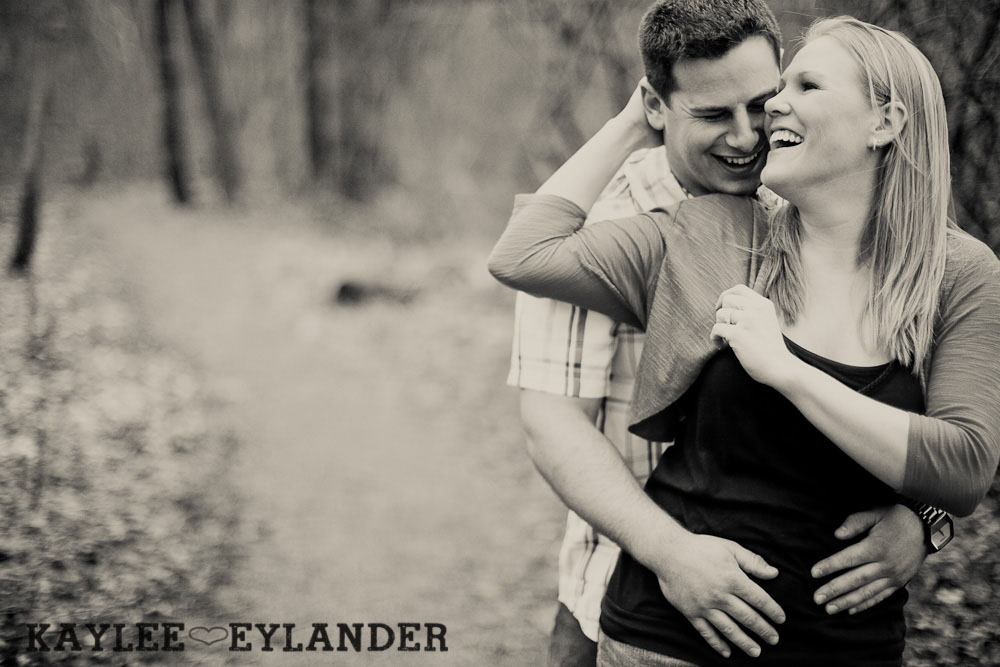 beach engagement session 38 Beach, Railroad Tracks & Trees | Everett Engagement Session
