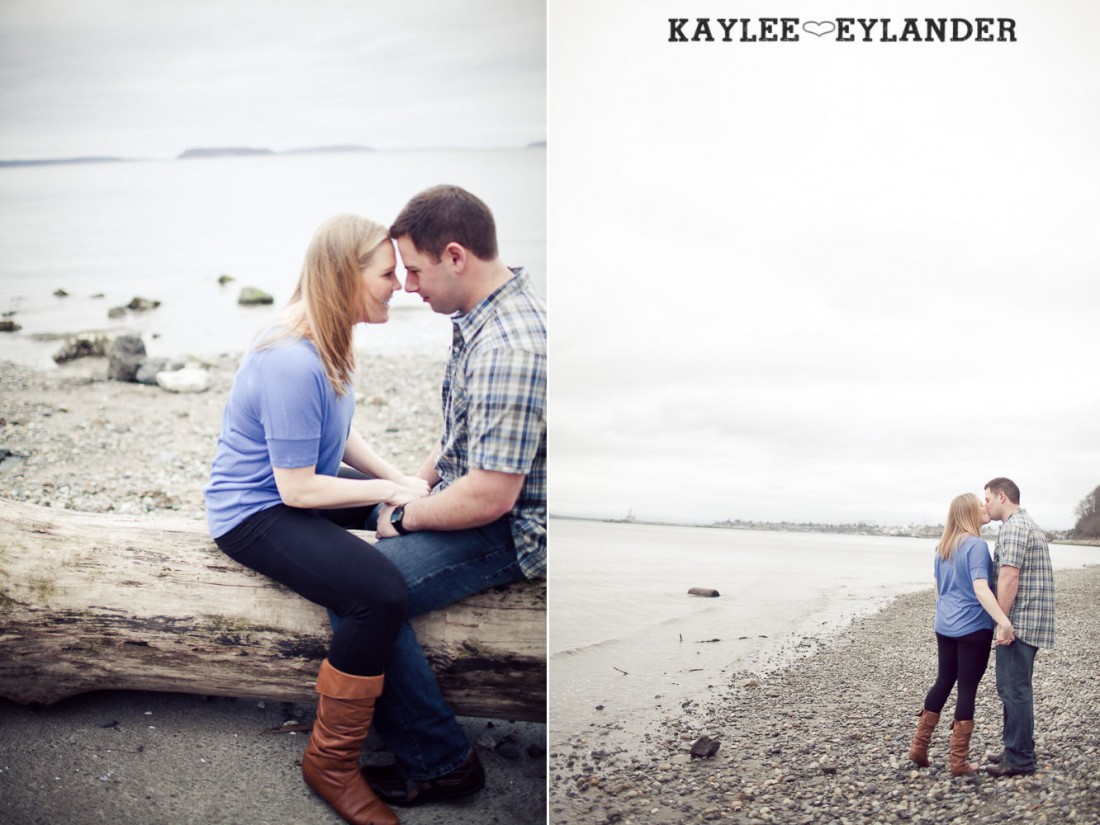 beach engagement session 46 1100x825 Beach, Railroad Tracks & Trees | Everett Engagement Session