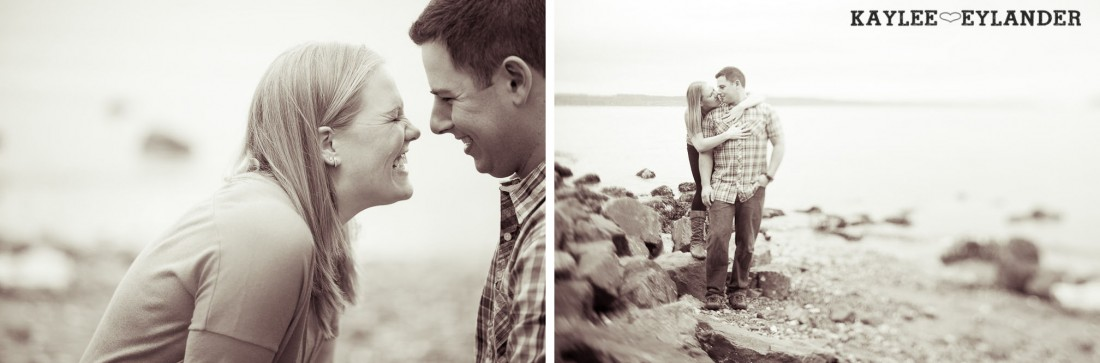 beach engagement session 49 1100x363 Beach, Railroad Tracks & Trees | Everett Engagement Session