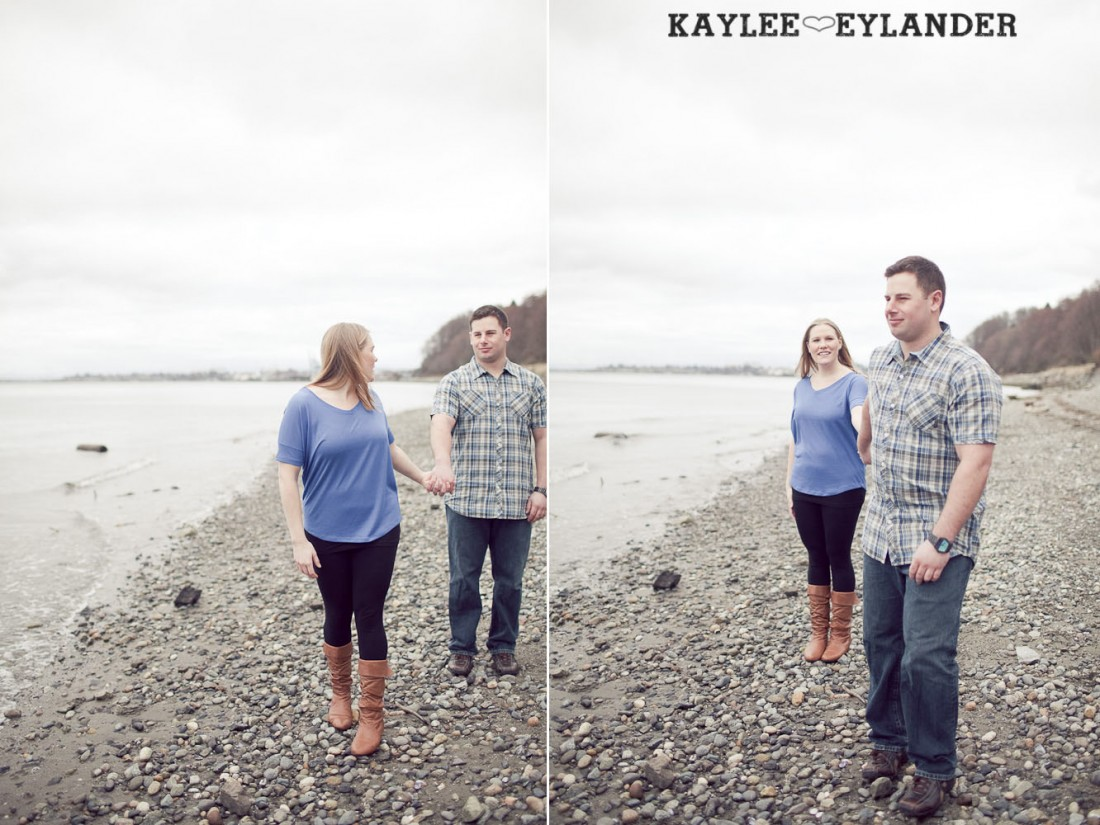 beach engagement session 52 1100x825 Beach, Railroad Tracks & Trees | Everett Engagement Session