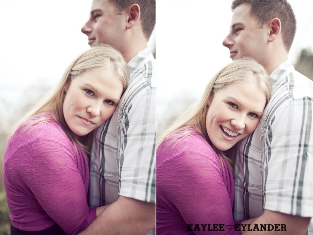 beach engagement session 7 1100x825 Beach, Railroad Tracks & Trees | Everett Engagement Session