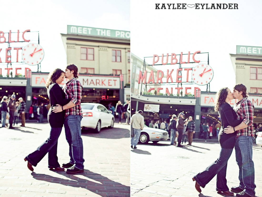 pike place engagement session 45 1100x825 Pike Place Engagement Session | Cody & Ciara