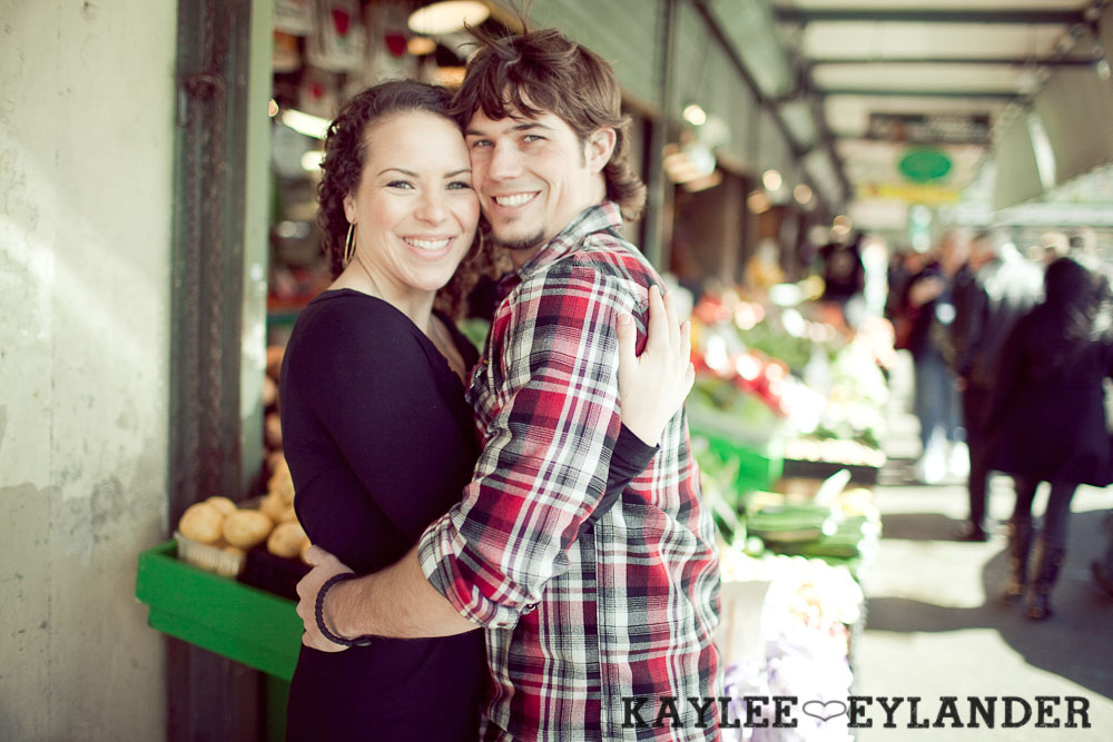 pike place engagement session 50 Pike Place Engagement Session | Cody & Ciara
