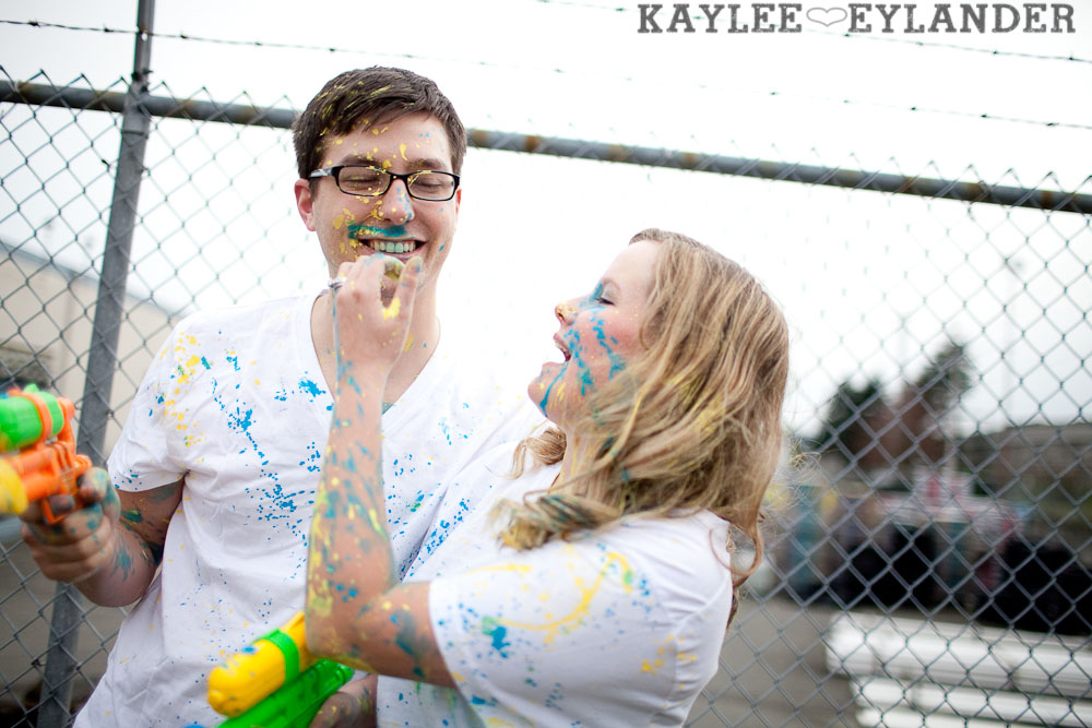 paint engagement session 36 Liane & Jimmy | 100 Days till go time!