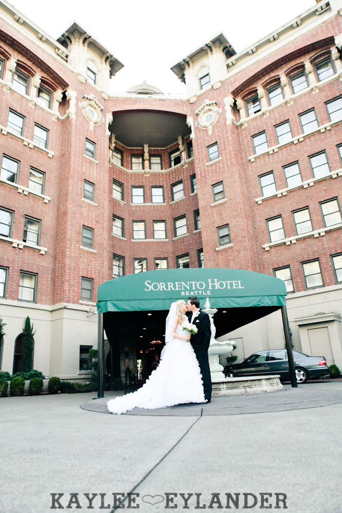 Sorrento Hotel St. James Cathedral 49 St. James Cathedral Wedding  & Reception Seattle | Dena & Cameron Part 2