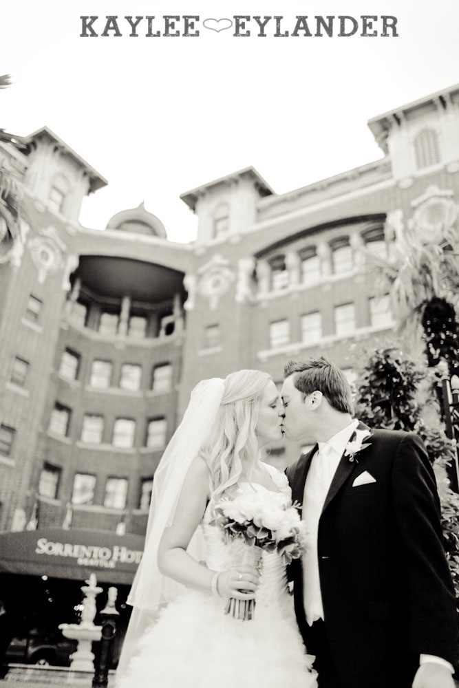 Sorrento Hotel St. James Cathedral 50 St. James Cathedral Wedding  & Reception Seattle | Dena & Cameron Part 2