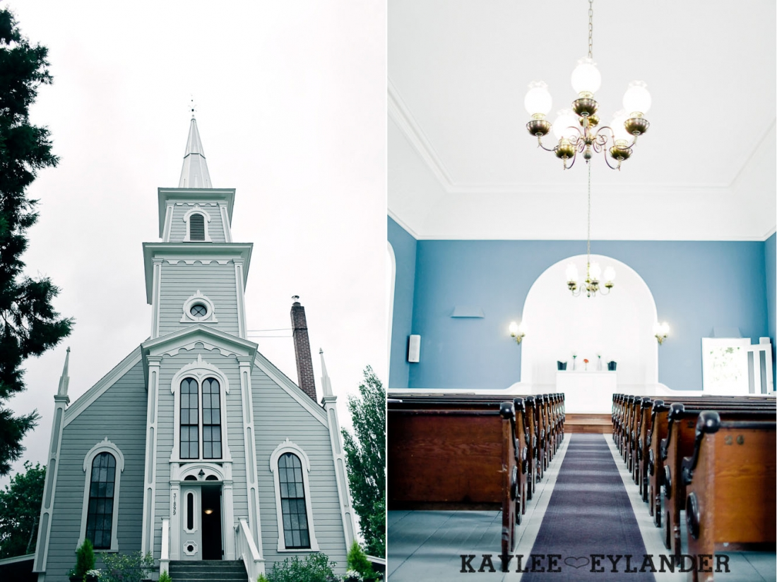 Port Gamble St Pauls Church Wedding 1 1100x825 Port Gamble Vintage DIY Wedding | I heart St. Pauls Church!