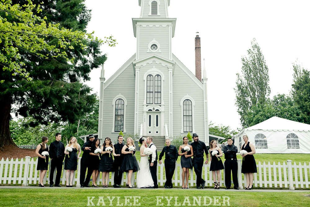 Port Gamble St Pauls Church Wedding 61 Port Gamble Vintage DIY Wedding | I heart St. Pauls Church!