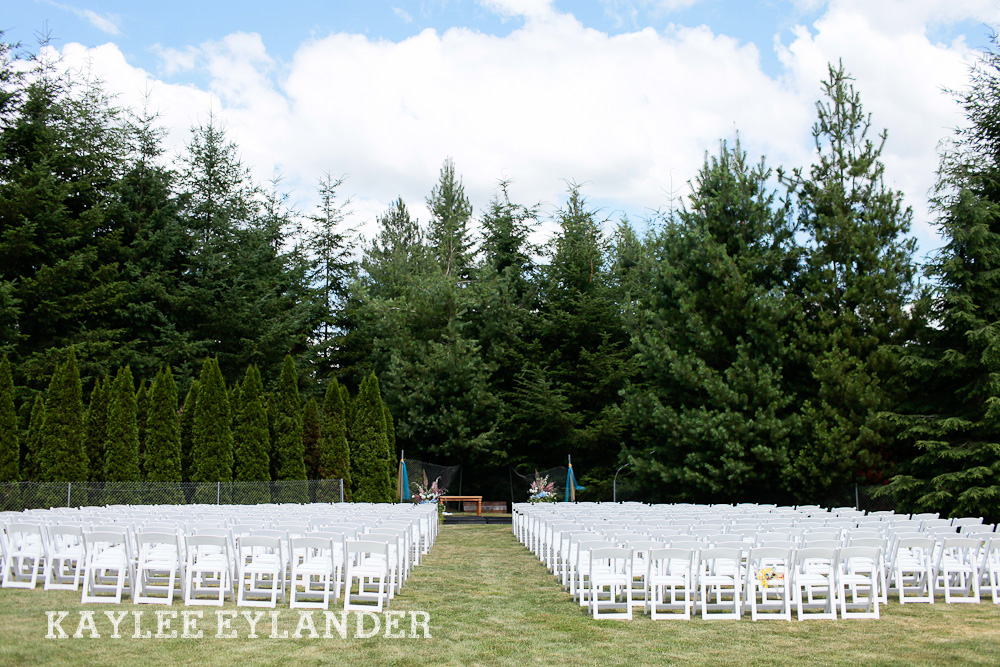 Bothell Backyard DIY Wedding 3 DIY Bothell Backyard Wedding | Turquoise & Yellow Wedding