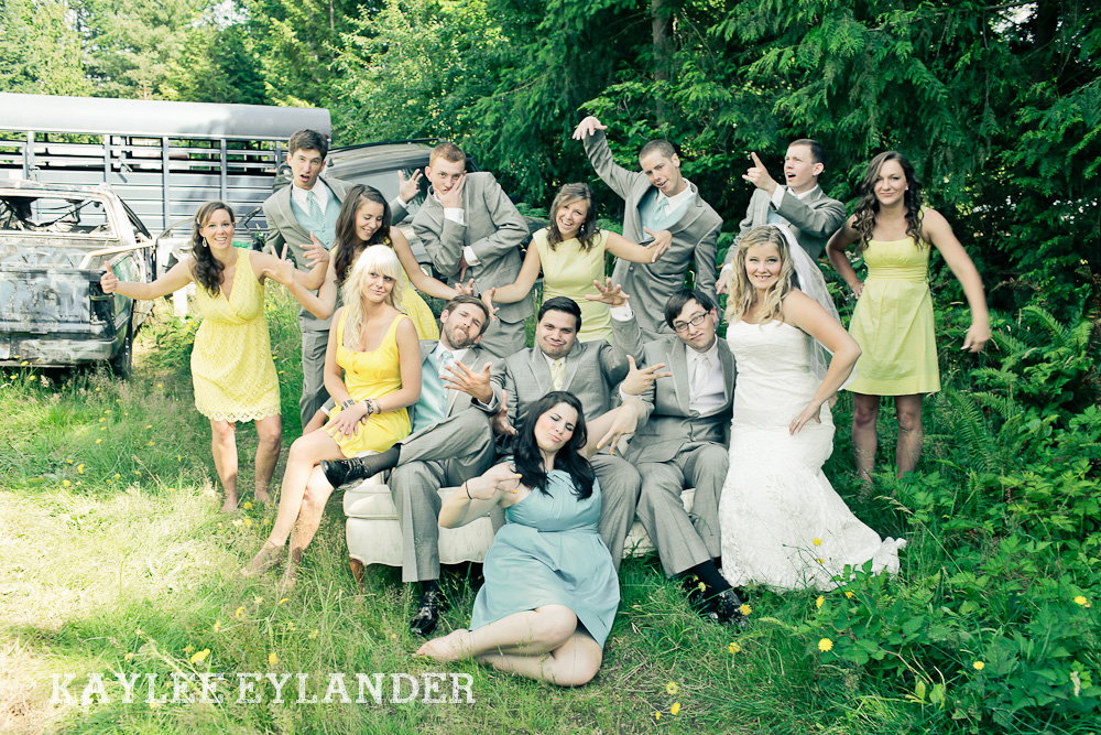 Bothell Backyard DIY Wedding 31 DIY Bothell Backyard Wedding | Turquoise & Yellow Wedding