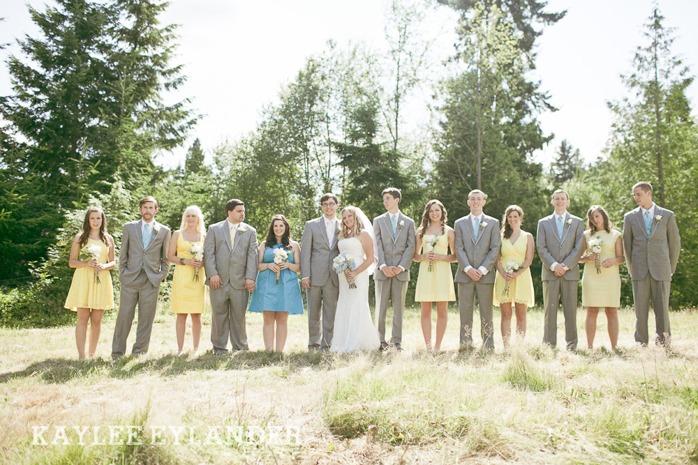 Bothell Backyard DIY Wedding 39 DIY Bothell Backyard Wedding | Turquoise & Yellow Wedding