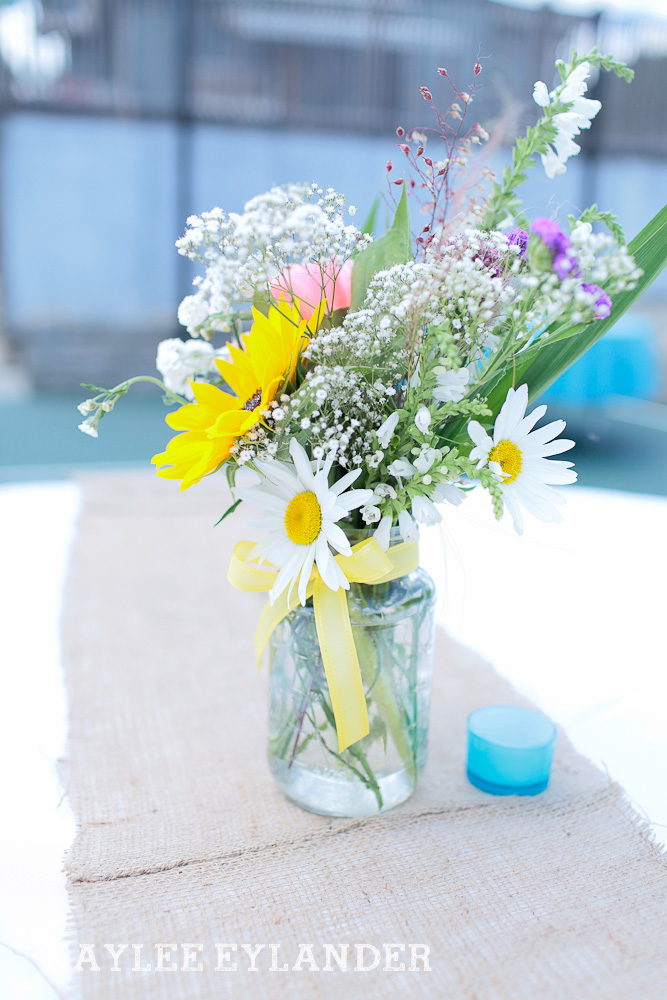 Bothell Backyard DIY Wedding 4 DIY Bothell Backyard Wedding | Turquoise & Yellow Wedding
