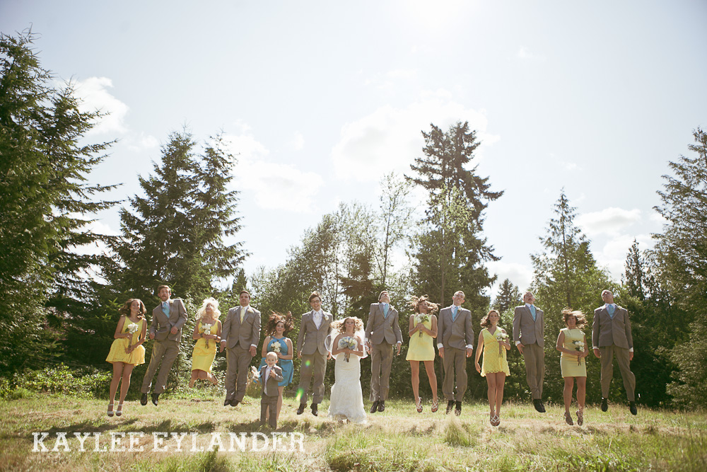Bothell Backyard DIY Wedding 40 DIY Bothell Backyard Wedding | Turquoise & Yellow Wedding