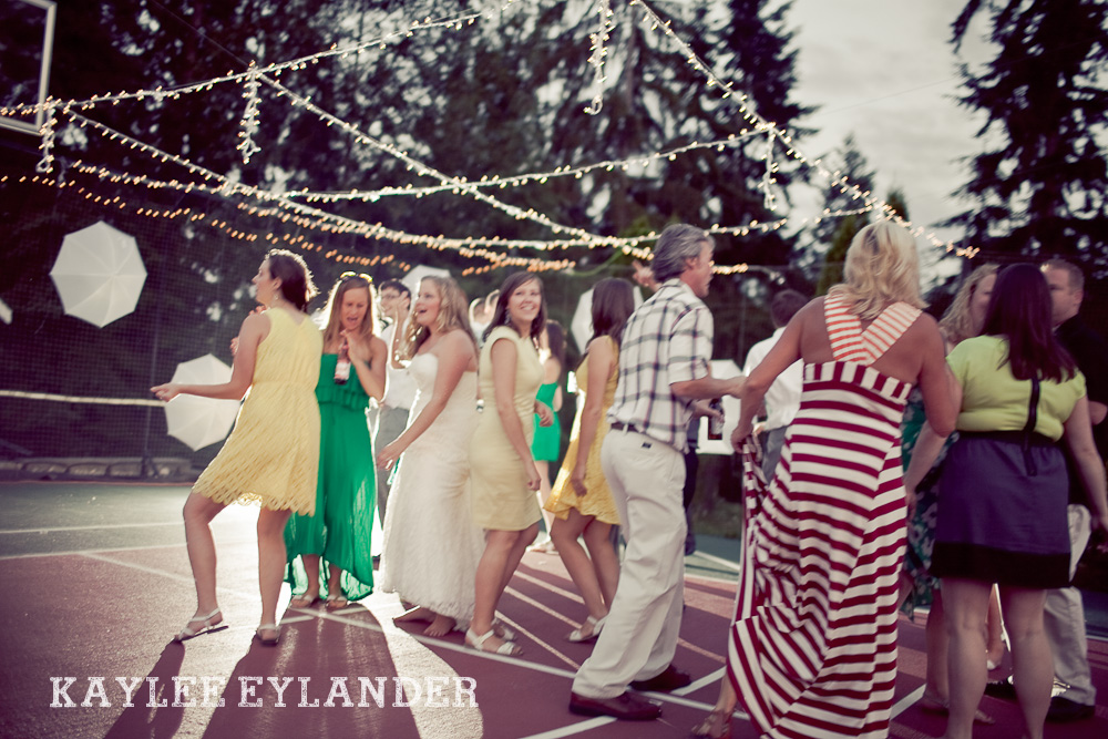 Bothell Backyard DIY Wedding 57 DIY Bothell Backyard Wedding | Turquoise & Yellow Wedding