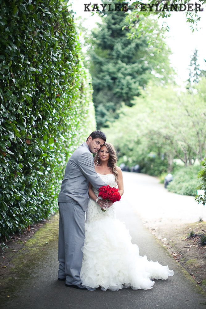 Robinswood House Bellevue Red Grey Wedding 50 Robinswood House Wedding | Red, Grey, Hearts & Birch Wedding