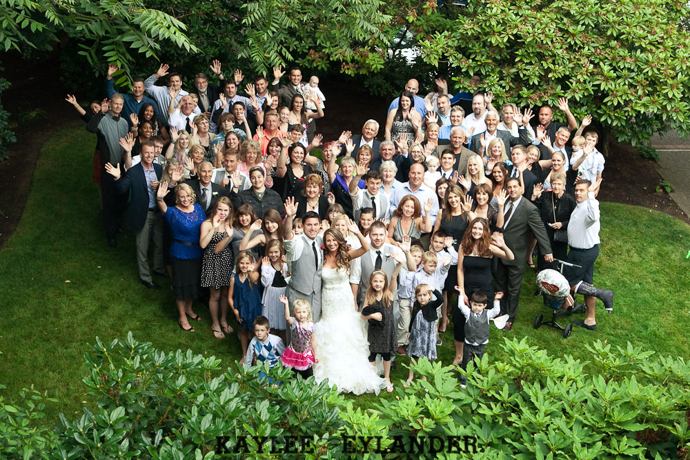 Robinswood House Bellevue Red Grey Wedding 80 Robinswood House Wedding | Red, Grey, Hearts & Birch Wedding