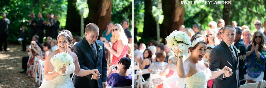 Twin Willows Wedding ceremony 15 1100x365 Twin Willows Wedding | Glitter, Grey & Pink Wedding