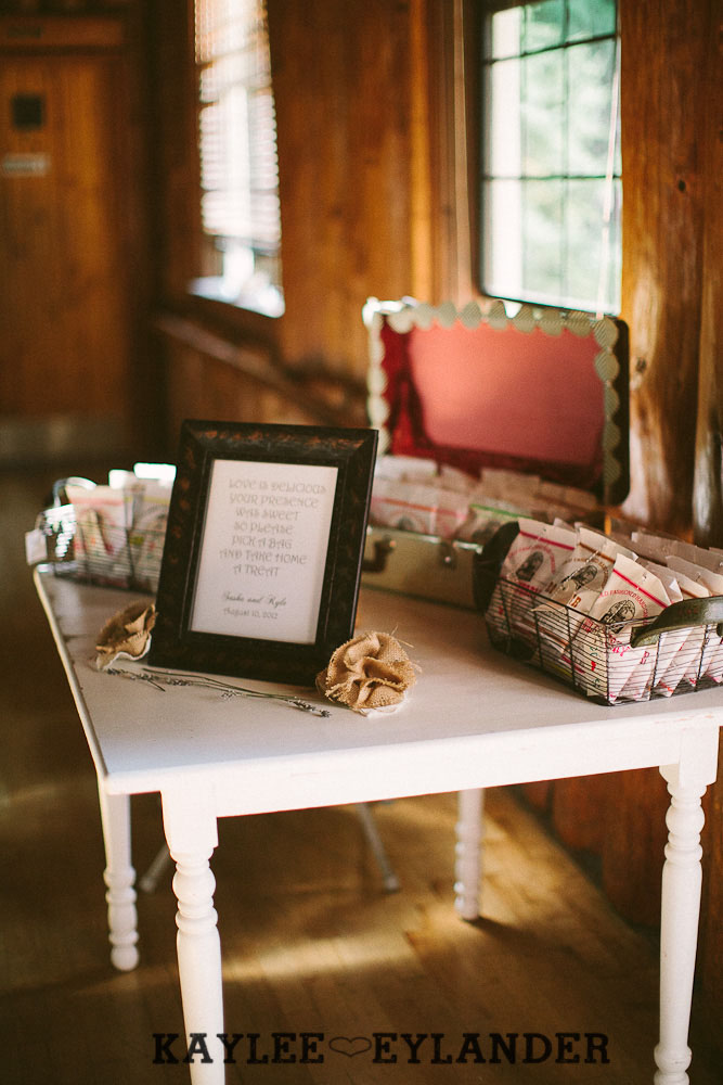 hill crest mt vernon wedding recpetion 107 Hillcrest Park Lodge Wedding | Mt Vernon | DIY Lace & Burlap Wedding