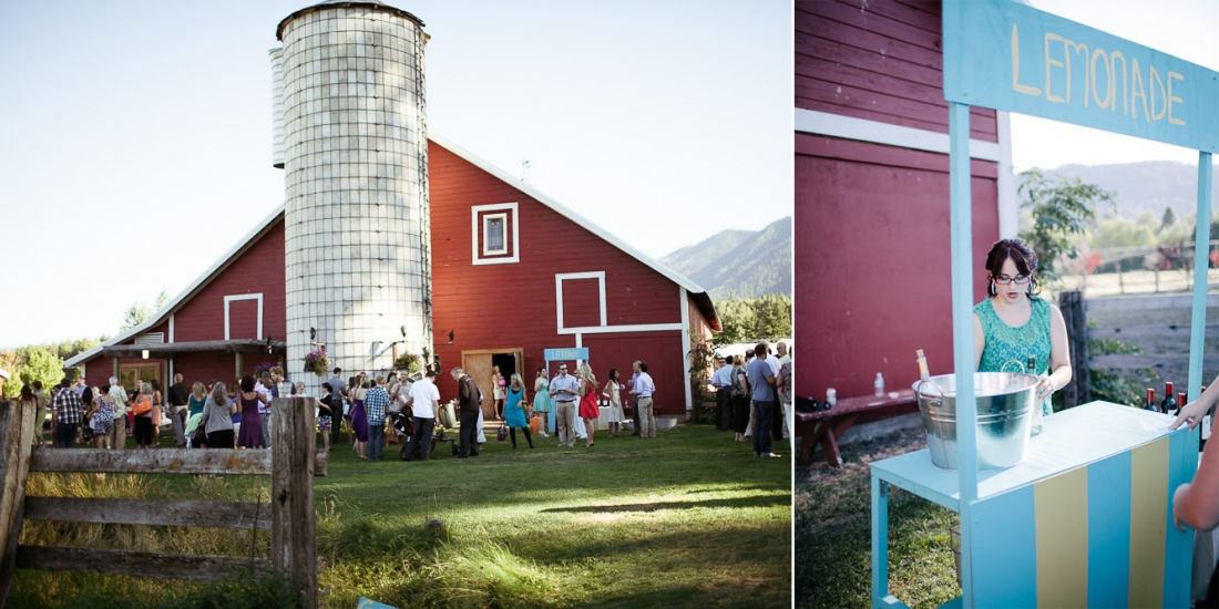 Ritter Farms Cle Elum DIY Wedding Reception 6 1100x550 Ritter Farms DIY Wedding | Cle Elum Wedding | Turquoise Piano in a field...need I say more?