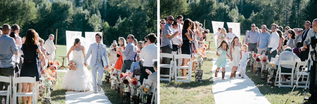 Ritter Farms Cle Elum Wedding Ceremony 18 1100x363 Ritter Farms DIY Wedding | Cle Elum Wedding | Turquoise Piano in a field...need I say more?
