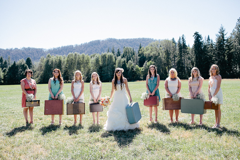 Ritter Farms DIY WEdding Party 10 Ritter Farms DIY Wedding | Cle Elum Wedding | Turquoise Piano in a field...need I say more?