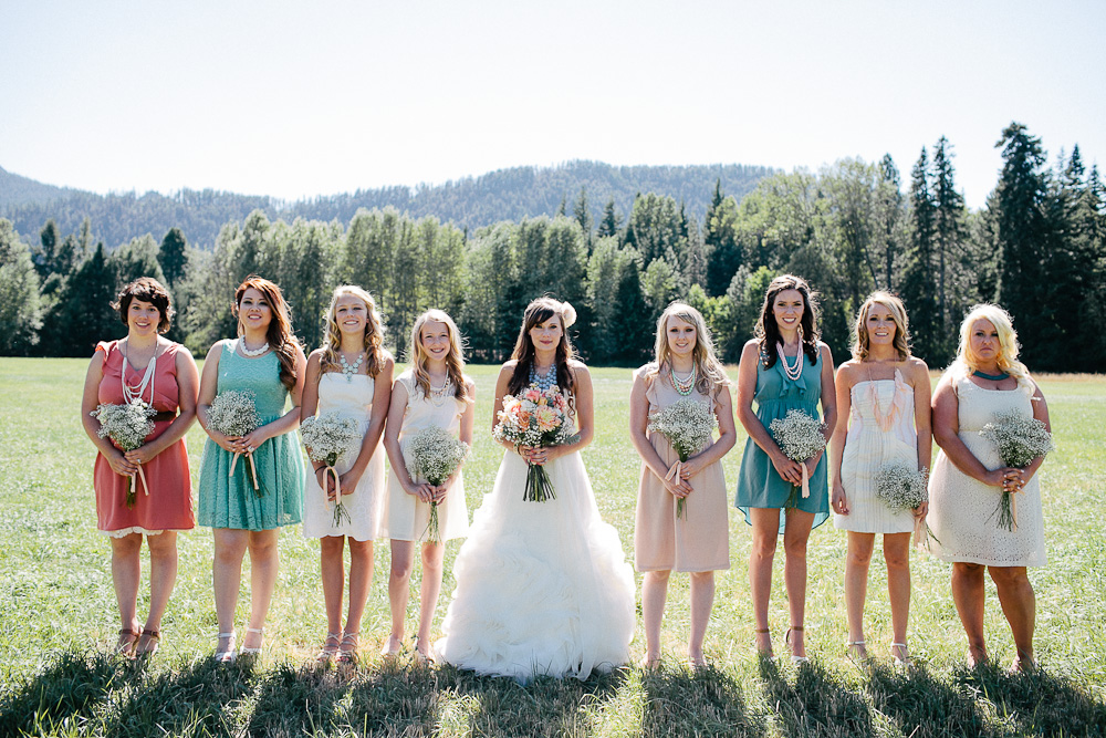 Ritter Farms DIY WEdding Party 11 Ritter Farms DIY Wedding | Cle Elum Wedding | Turquoise Piano in a field...need I say more?