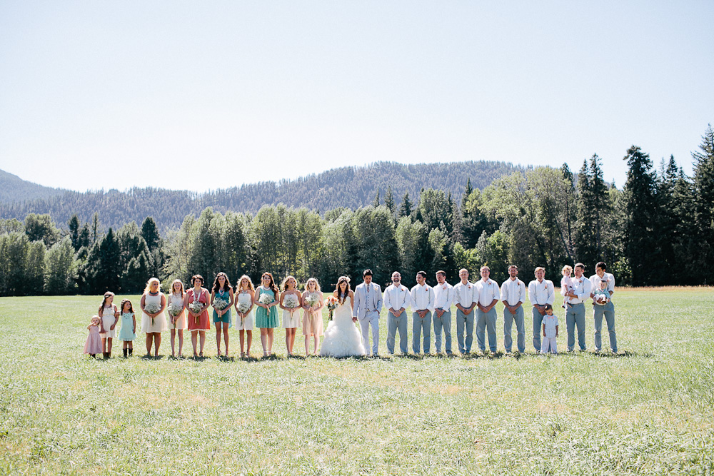 Ritter Farms DIY WEdding Party 4 Ritter Farms DIY Wedding | Cle Elum Wedding | Turquoise Piano in a field...need I say more?