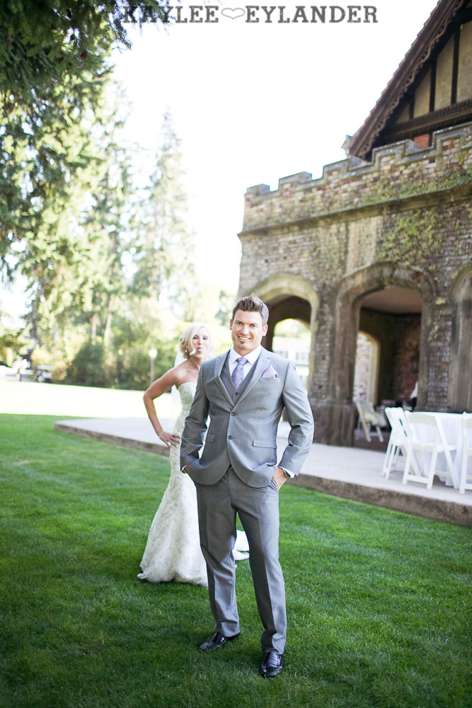 Thornewood Castle Wedding First Look 2 Thornewood Castle Wedding |  Seattle Wedding Photographer