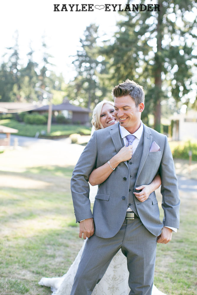 Thornewood Castle Wedding First Look 22 Thornewood Castle Wedding |  Seattle Wedding Photographer