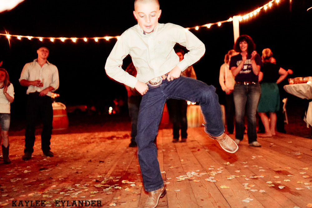 DIY Farm Field Wedding 141 DIY Field Wedding | Chehalis Wedding | Dance floor in the field!