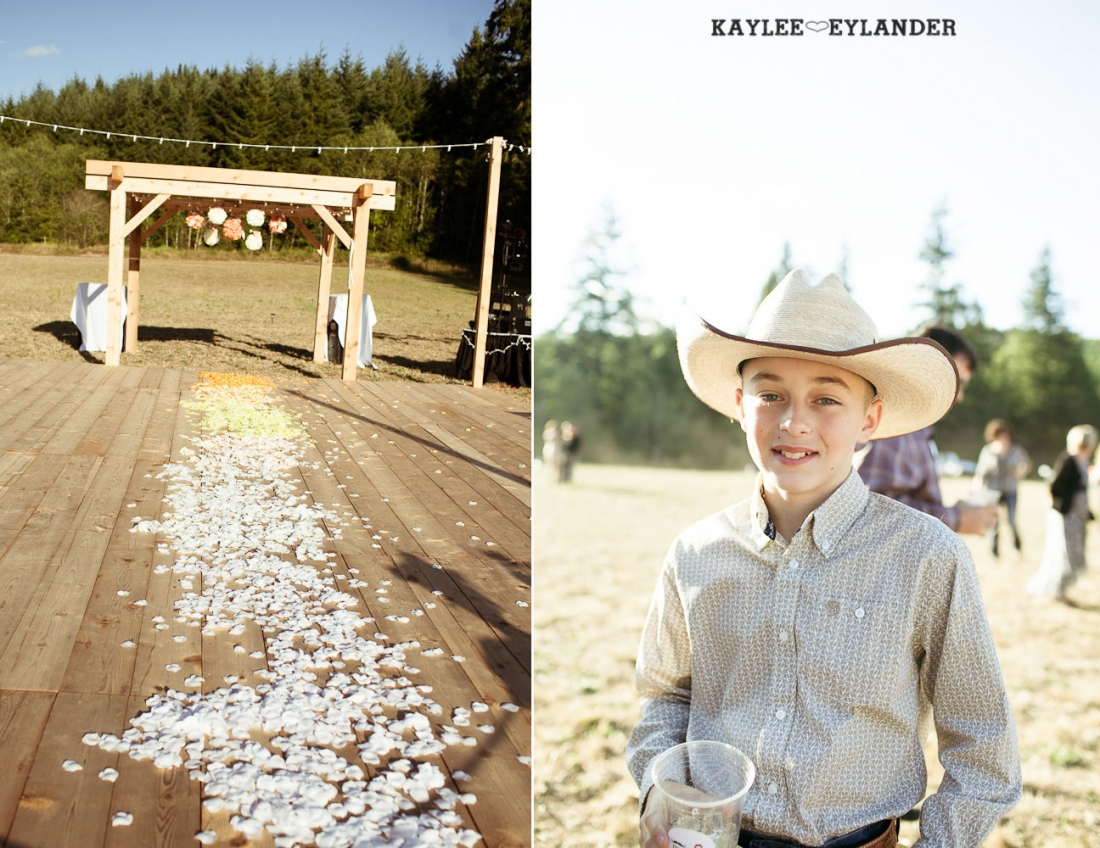DIY Farm Field Wedding 94 1100x848 DIY Field Wedding | Chehalis Wedding | Dance floor in the field!