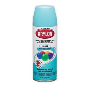 Krylon Ocean Blue Spray1 DIY Wedding ideas | Spray Paint