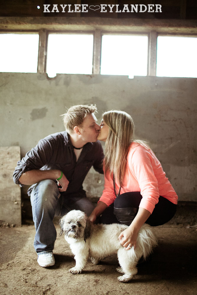 Rustic Outdoor Engagement session kaylee eylander 14 Rustic Outdoor Engagement Session | Hurley is a good pup