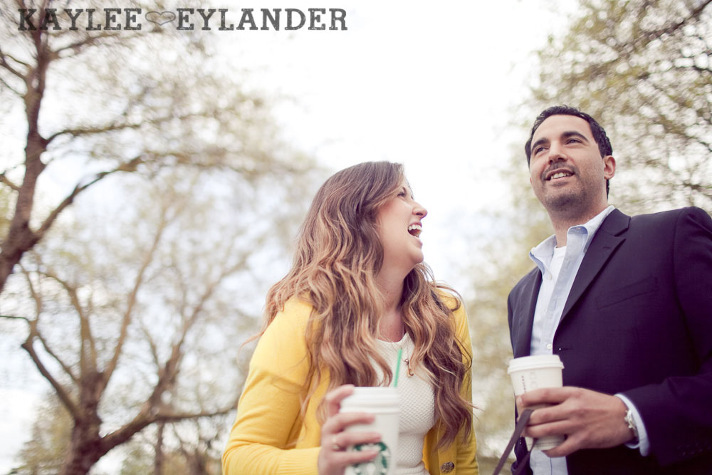 Greenlake Engagement Session 4 Engagement Sessions With Props | Seattle Wedding Photographer